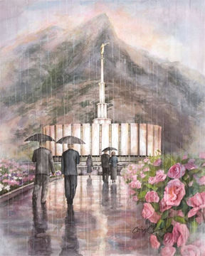 Picture of Refuge From The Storm - Provo Temple