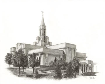 Picture of Bountiful Temple
