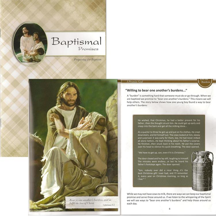 Picture of Baptismal Promises Booklet