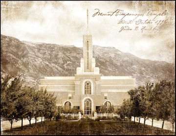 Picture of Mount Timpanogos Vintage