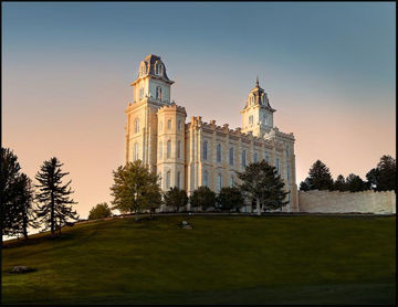 Picture of Manti Summer Evening