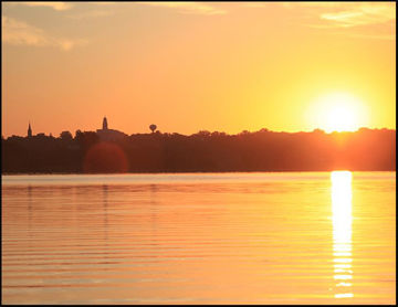 Picture of Nauvoo Mississippi Sunrise
