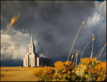 Picture of Oquirrh Mountain Peace After The Storm