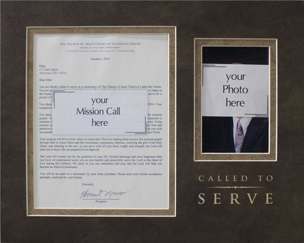 Picture of Missionary Call Mat - Called To Serve