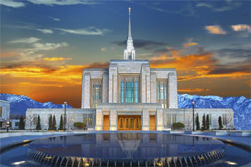 Picture of Ogden Temple Reflection