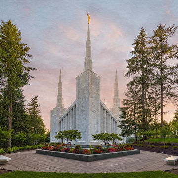 Picture of Portland Temple 01