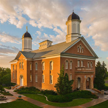 Picture of Vernal Temple Glorious Morning