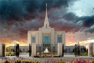 Picture of Ogden Temple Refuge From The Storm