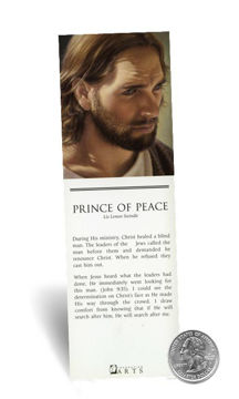 Picture of Prince Of Peace Bookmark 2 X 7