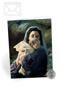 Picture of Be It Unto Me Folding Card 5 X 7