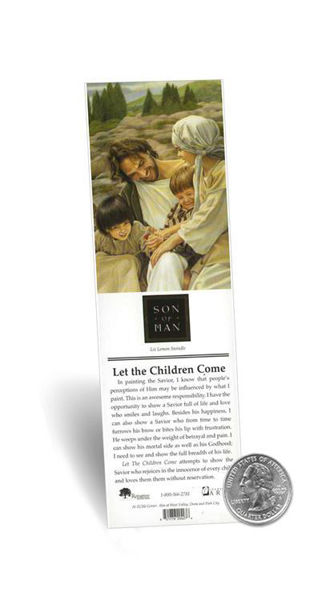 Picture of Let The Children Come Bookmark 2 X 7