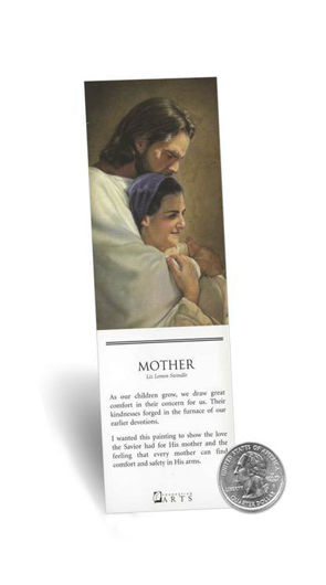 Picture of Mother Bookmark 2 X 7