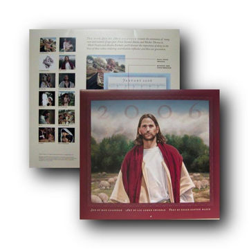 Picture of 2006 Son of Man Calendar 13 X 11