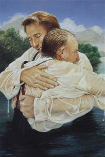 Picture of Father's Baptism