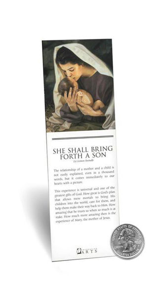 Picture of She Shall Bring Forth A Son Bookmark 2 X 7