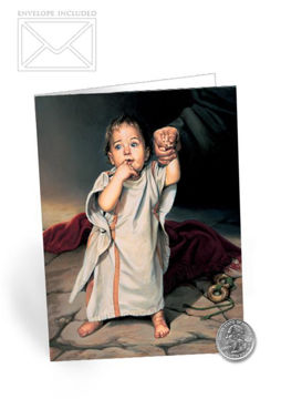 Picture of Child Of Grace Folding Card 5 X 7