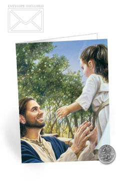 Picture of Faith Folding Card 5 X 7
