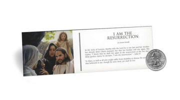 Picture of I Am The Resurrection Bookmark 2 X 7