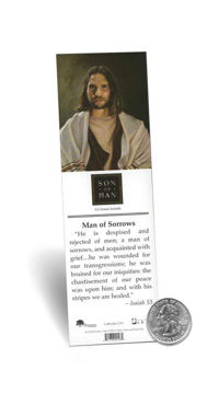 Picture of Man Of Sorrows Bookmark 2 X 7