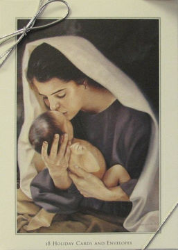 Picture of She Shall Bring Forth A Son Christmas Cards 5 X 7 18-Pack