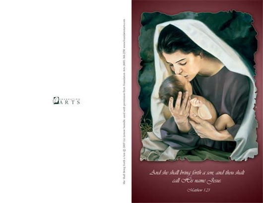 Picture of She Shall Bring Forth A Son Program Covers 11 X 8 1/2