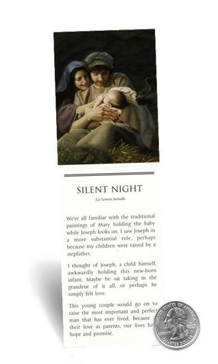 Picture of Silent Night Bookmark 2 X 7