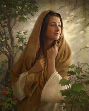 Picture of Mary Kept All Of These Things And Pondered Them In Her Heart