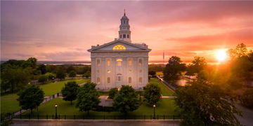 Picture of Nauvoo From On High