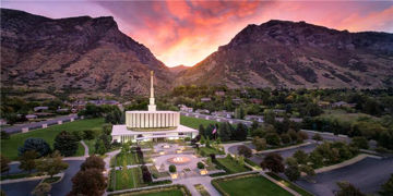 Picture of Provo From On High