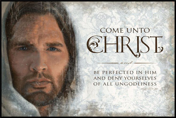 Picture of YM/YW Theme (Come Unto Christ) Plaque 15 X 10
