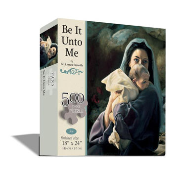 Picture of Be It Unto Me Puzzle 24 X 18