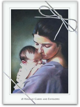 Picture of Swaddling Christmas Cards 5 X 7 18-Pack