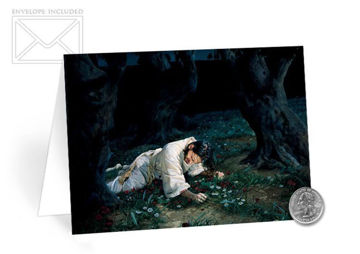 Picture of Gethsemane Folding Card 5 X 7