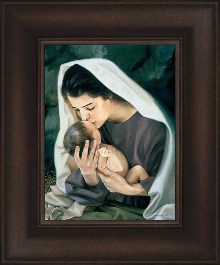 Picture of She Shall Bring Forth A Son Print 9 X 12