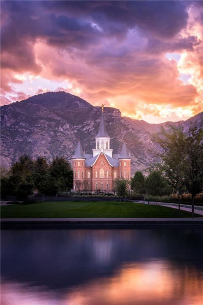 provo cc morning breaks by alan fullmer
