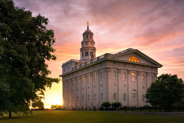 Picture of Nauvoo Late Sunset