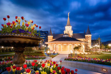 Picture of Provo City Center - April Showers Bring May Flowers