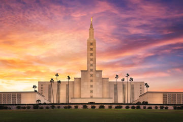Picture of Los Angeles Sky Of Angels