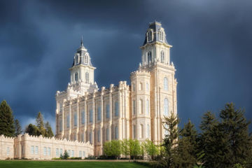 Picture of Manti - Stormy Skies