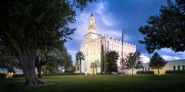 Picture of St. George Blue Hour Panorama