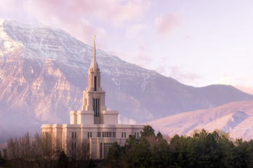 Picture of Payson and Snowy Timpanogos