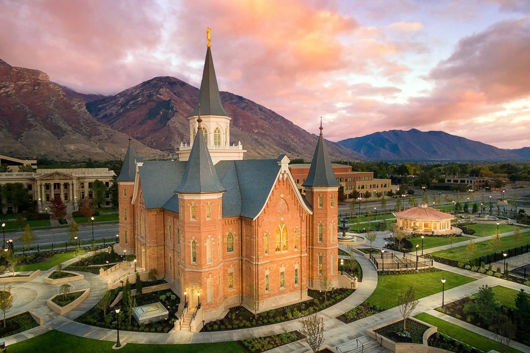 Picture of Provo City Center Aerial