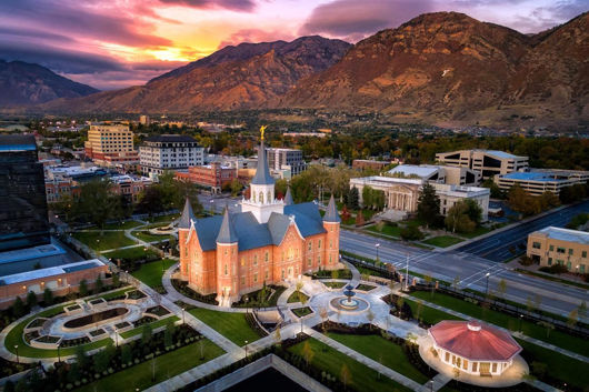 Picture of Provo City Center Northeast Aerial