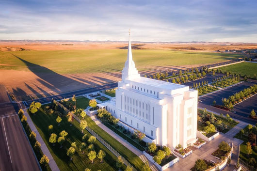 Picture of Rexburg Shadow Aerial