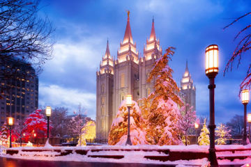 Picture of Salt Lake Christmas Temple