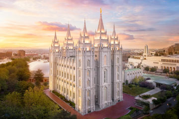Picture of Salt Lake City a Mighty Fortress