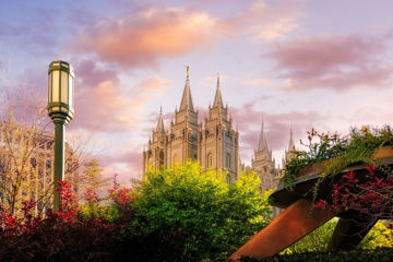 Picture of Temple Square Glorious Majesty of His Kingdom