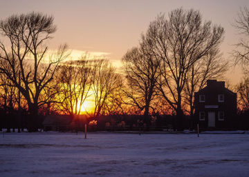 Picture of Plate 2 - Bootshop Sunset Winter