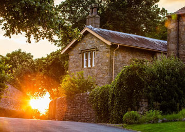 Picture of Plate 5 - Entering Downham Village at Sunset