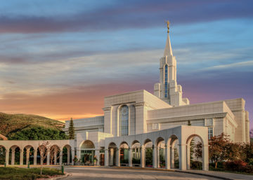 Picture of Bountiful Utah Temple A House of Truth